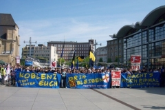 31.Spieltag: TuS - Wiesbaden (3:2) - Demo gegen DFL